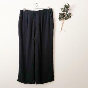 NWT 1. State Black Wide Leg Pants Plus Size 16W